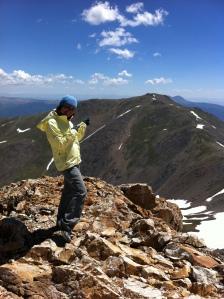 Climbing 14tners in Colorado...